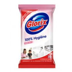 Glorix Schoonmaakdoekjes Pink Lily 30 stuks