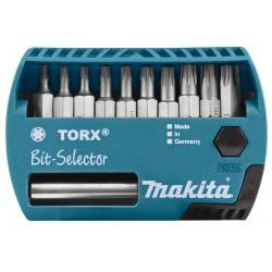 "Makita Schroefbitset 11-delig ""TORX"""