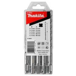 Makita borenset P2S: SDS-PLUS 5/6/8x110 6/8x160