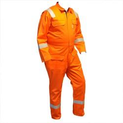 Quiteright Offshore Brandvertragende Antistatische Overall Oranje