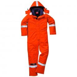 Portwest FR Antistatische Winter Overall Oranje FR53