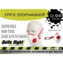 Stofmasker FFP3