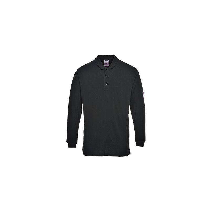 FR10 - Vlamvertragend antistatische langemouw T-shirt