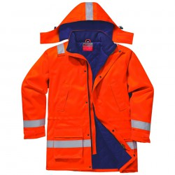 Portwest FR Antistatische Winterjas Oranje FR59
